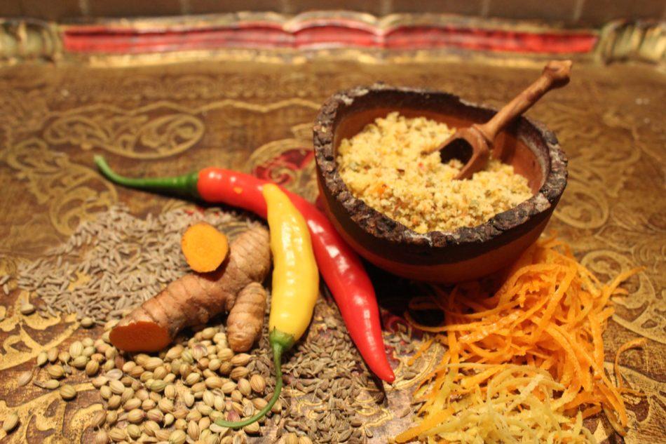 Spicy krydderurtesalt - Mad med glød
