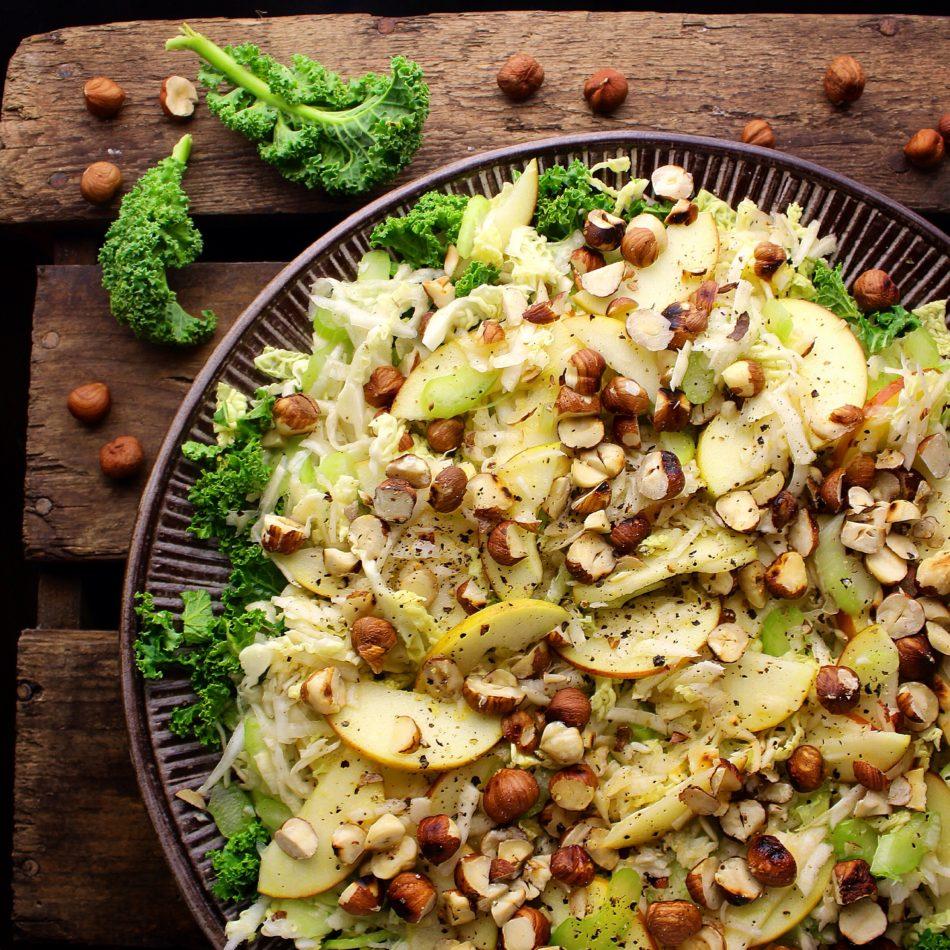 bladselleri salat opskrift