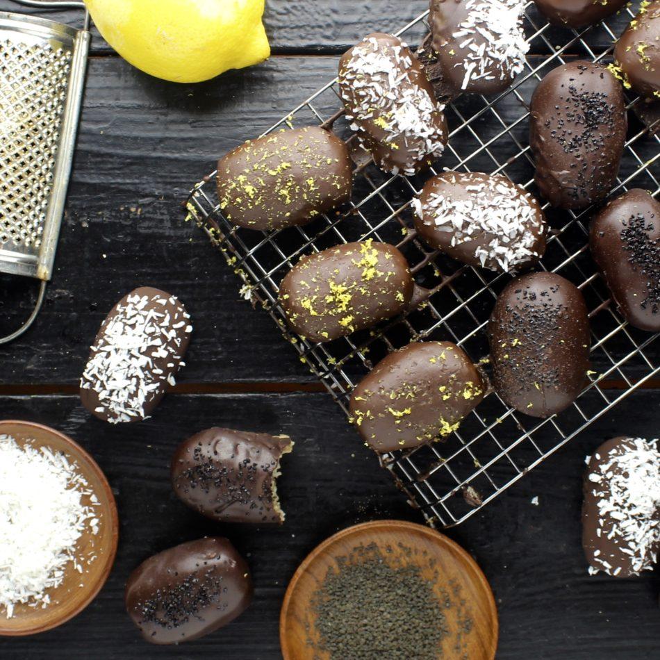 Påskeæg med bountyfyld - Plantebaseret / Vegansk opskrift - Mad med glød